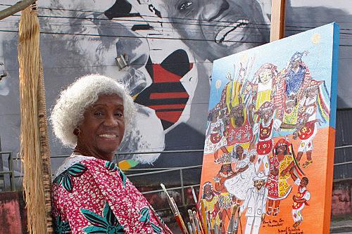 Fundadora do Teatro Solano Trindade, em Embu, Trindade tinha um papel fundamental na promoção da cultura afro-brasileira