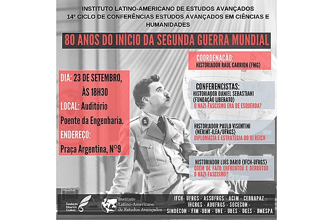 Evento acontece às 18h30 do dia 23 de setembro, com transmissão ao vivo pela página do ILEA