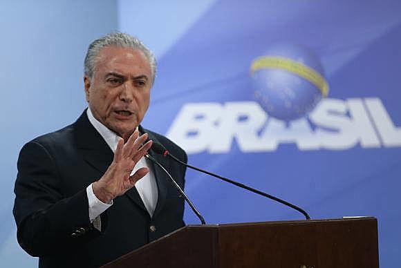 Michel Temer (PMDB) fue denunciado el lunes (26) por el Fiscal Rodrigo Janot bajo acusación de corrupción pasiva
