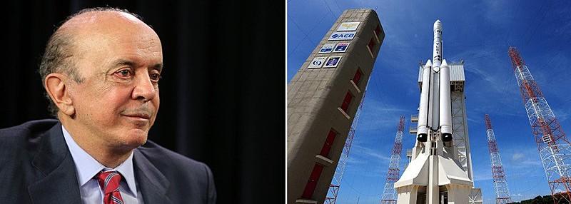 Serra confirmou que oferecerá aos americanos um acordo sobre a estratégica base de Alcântara (MA).