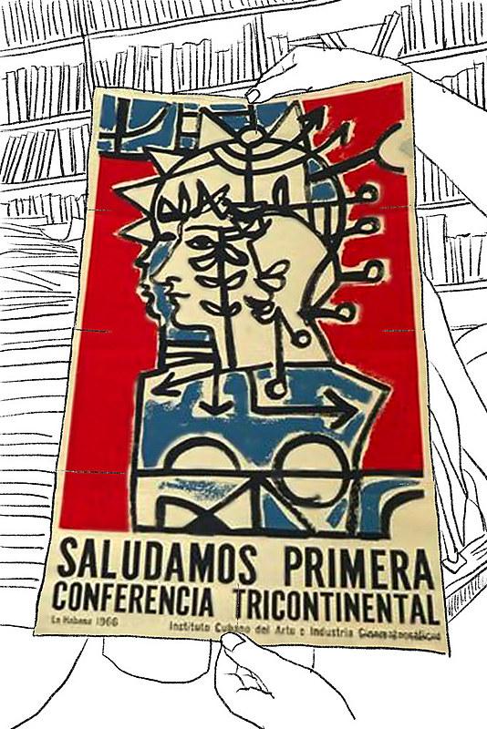 Cartaz da Primeira Conferência Tricontinental