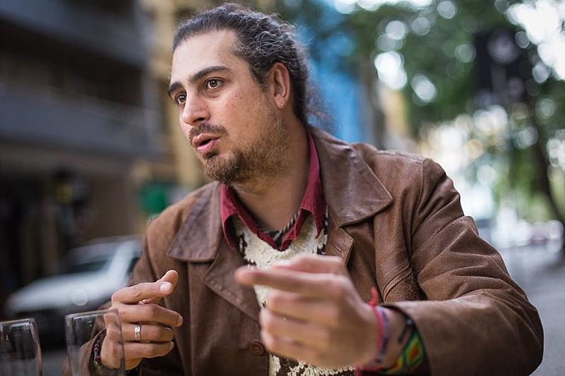 Argentino Pablo Piovano, autor do trabalho documental 'O Custo Humano dos Agrotóxicos'