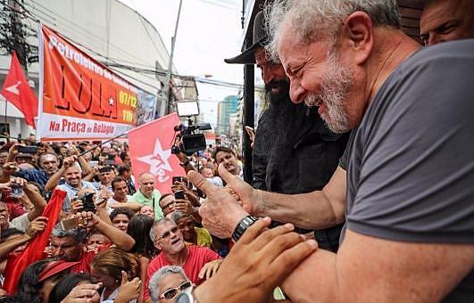 """Los activistas destacaron que Lula da Silva """"es muy admirado y respetado por el movimiento sindical internacional"""""""