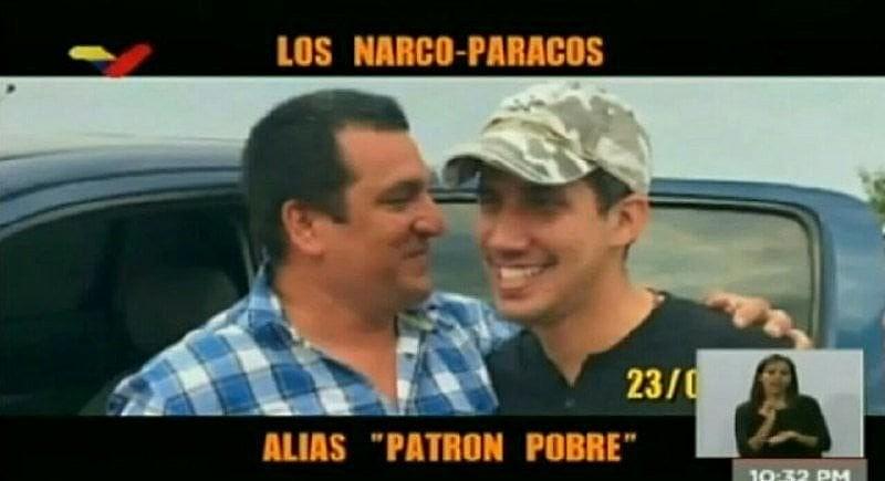 Autoproclamado presidente interino da Venezuela aparece com membro de grupo narcotraficante da Colômbia