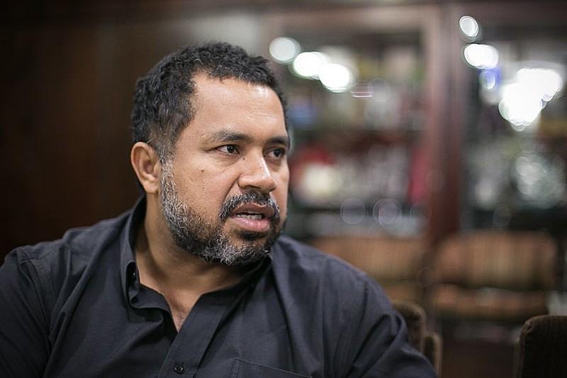 O dirigente nacional do MST, João Paulo Rodrigues